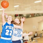 Pure Sweat Elite guard Kennedy Potts balls so hard that college coaches are trying to find her at the Elite 32 Summer Jam II. *Photo by Ty Freeman