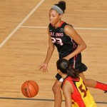 Ohio commit Quiera Lampkins is a big reason that All-Ohio Black is considered one of the nation's premier teams *Photo by Ty Freeman