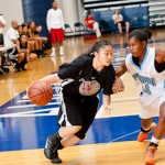 Cora Chan, a class of 2013 guard from Calif., took center stage at our Elite 32 Summer Jam II with her ability to create off of the bounce. *Photo by Ty Freeman