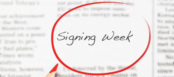 Signing Week