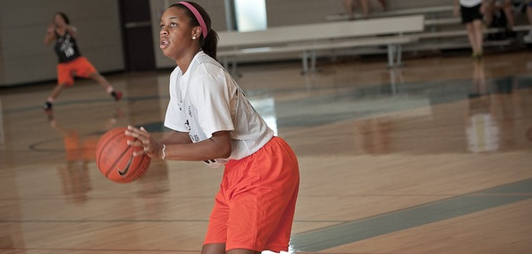 Asia Durr of Douglasville, Ga., has proven that she belongs in the discussion amongst the elite scoring guard in the class of 2015. *Photo by Ty Freeman