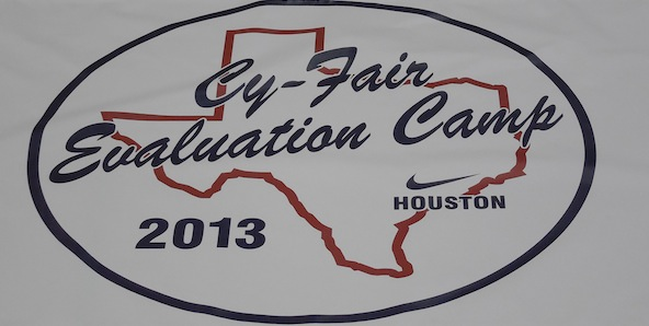 The Cy-Fair Evaluation Camp was a great way for players around Texas to shine in front of our staff. *Logo courtesy of Al Coleman