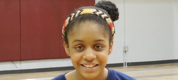 Desiree Caldwell's game is growing with each evaluation of her game. *Photo by Brandon Clay