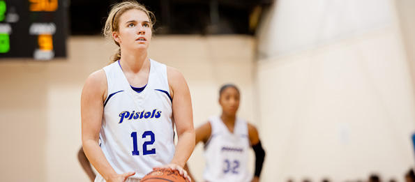 Katie Dozier of Marietta, Ga., is a versatile point guard in the class of 2014. *Photo by Ty Freeman