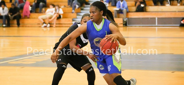 Blue Star Florida will look for Destiny Woodard of Fla., to apply pressure to opposing defenses. Photo by DJ Galbiati Photography