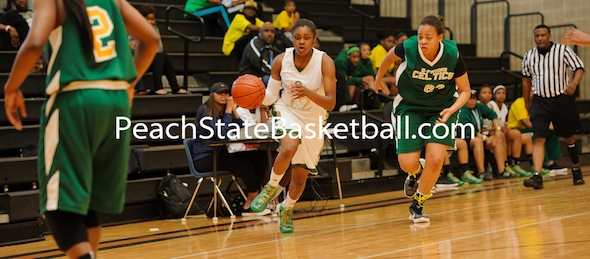Jada Byrd has led the Atlanta Lady Celtics with her play all summer. *Photo by Ty Freeman