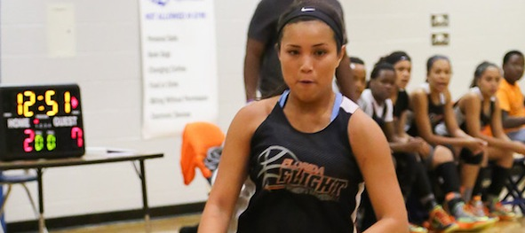 Jessica Font of Orlando, Fla., is positioned to be a key for Florida Flight at multiple TeamPSB events this summer. *Photo by Ty Freeman