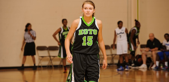 Karlie Bearden of Dawsonville, Ga., is leading the youth movement this July for E.O.T.O. *Photo by Ty Freeman