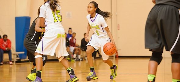 Khayla Pointer of Marietta, Ga., has Team ELITE poised for a breakout summer with TeamPSB. Photo by Ty Freeman
