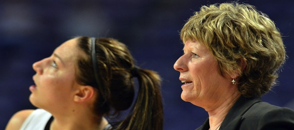 For the first time in four seasons, Deb Patterson will lead the Wildcats without the services of Brittany Chambers.