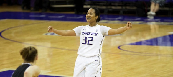 Two-time Pac-12 first teamer Jazmine Davis leads the Huskies into 2013-14