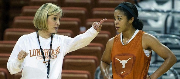 Karen Aston returns all five starters and has her Longhorns ready for a breakout 2013-14 campaign.*Courtesy of Texas Athletics