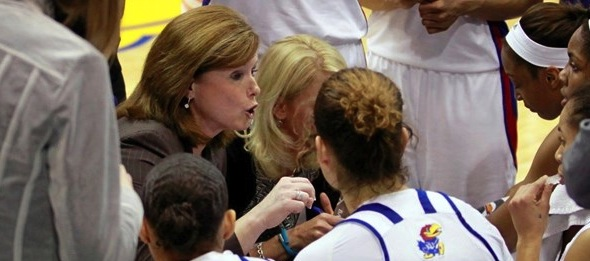 Bonnie Henrickson has coached the Jayhawks to win and changed the culture in Lawrence.*Photo courtesy of Kansas Athletics