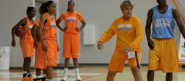 Holly Warlick led Tennessee to 27 wins in her initial season as the head coach in Knoxville.*Photo courtesy of Tennessee