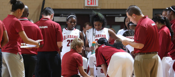 Alabama coach Kristy Curry will look to guide the Crimson Tide to their first victory in the 2013-14 season.*Courtesy of Alabama Athletics