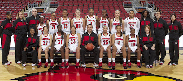 The 2013-14 Louisville roster has ascended into the top five in the nation.*Courtesy of Louisville Athletics