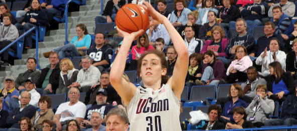 Former No. 1 class of 2012 prospect Breanna Stewart was picked by three of our four analysts.*Courtesy of UConn Athletics