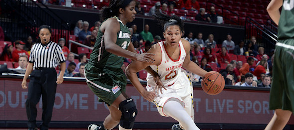 Led by 2013 ACC Player of the Year Alyssa Thomas, Maryland is trying to win their first national title since 2006.*Courtesy of Maryland Athletics