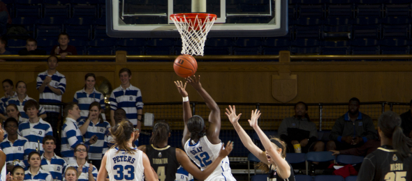 Before she setup shop in Durham, Duke guard Chelsea Gray was a top five HS prospect.  *Courtesy of Duke Athletics
