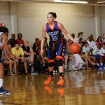 Before Duke, Kianna Holland played for the Georgia Hoopstars in front of packed crowds at PeachStateBasketball.com events. *Photo by Ty Freeman