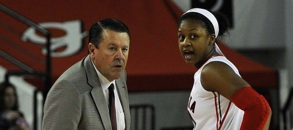 Coach Andy Landers and star Shacobia Barbee look to lead the Bulldogs to an SEC title. *John Kelley/Georgia Athletics