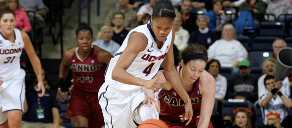 Before Moriah Jefferson was a two-game HS All-American and a UConn Husky, she shined in Los Angeles. *UConn Athletics/Bob Stovall