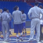 JumpOffPlus.com College Tour: Kansas Game Blog – Jan. 19, 2014