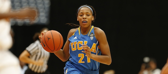 Even though she is averaging 17.8 points per contest, Nirra Fields of Santa Ana, Calif., is still scratching the surface. *Courtesy of UCLA Athletics