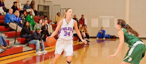 Class of 2014 forward Katie Powell of Duluth, Ga., will take her versatility to TCU next season. *Photo by Ty Freeman