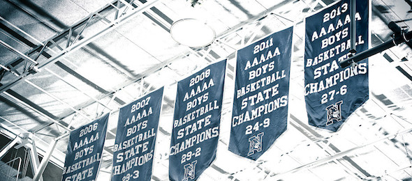 With five state championship banners in the last eight season, Norcross is one of the state's top school programs. *Photo by Ty Freeman