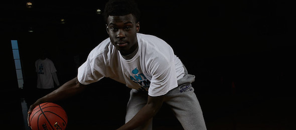 Wichita State commit Eric Hamilton of Duluth, Ga., used EBATop40 Workout to cement his status as a top senior in the state. *Photo by Ty Freeman