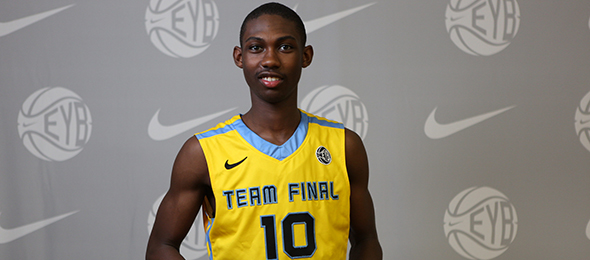 Class of 2015 guard Levan Alston of Philadelphia, Penn., gave his verbal to Temple University this week. Read his evaluations here. Photo cred - Jon Lopez/Nike