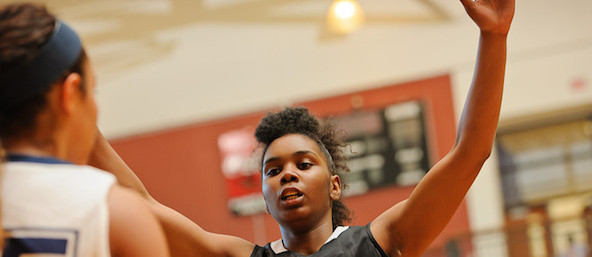 Elite 100 class of 2015 prospect Aliyah Mazyck of Charlotte, N.C., chose Cynthia Cooper's program.  *Ty Freeman / @TyPhotoG