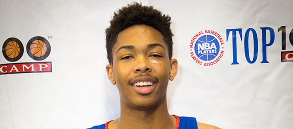 Class of 2015 wing Brandon Ingram blends skill and length into a lethal combination for opponents. Read his evals here. Photo cred - Davide de Pas