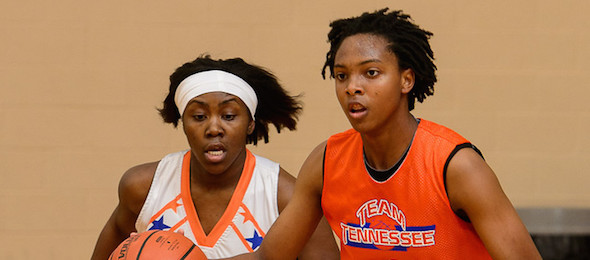 Chassity Carter of Dickson, Tenn. will take her game down the road to Vanderbilt - a budding consistent SEC power.  *Ty Freeman / @TyPhotoG
