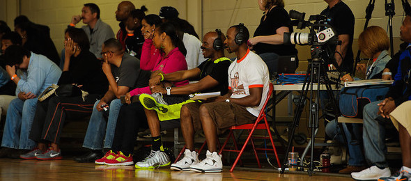 Marques Burnett and his SUVtv team have Elite Basketball Academy events covered from start to finish with HD broadcasts.  *Ty Freeman / @TyPhotoG