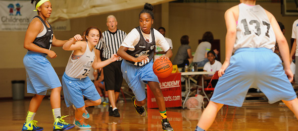 Kansas hard work recruiting Jayde Christopher of Federal Way, Wash., paid off in a commitment.  *Ty Freeman / @TyPhotoG