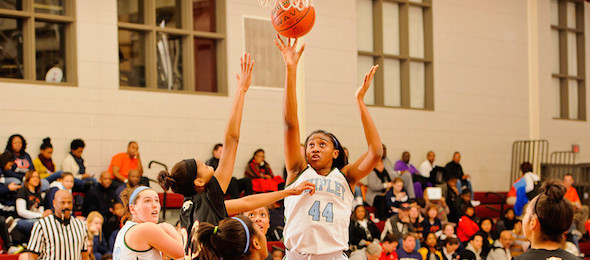 Georgia Tech scored an ELITE 60 post player in Martine Fortune of Philadelphia, Pa.  *Ty Freeman / @TyPhotoG