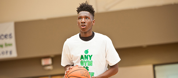 Class of 2015 guard Phillp Venson of Peachtree City, Ga., is a proven performer at EBA events. Photo cred - Ty Freeman/PSB