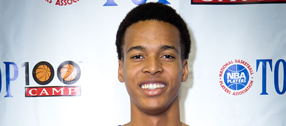 Class of 2015 post Skal Labissiere of Olive Branch, Miss., showed his skill at the NBPA Top 100 Camp in June. Read why he is a 5-star frontline player. Photo cred - Davide de Pas