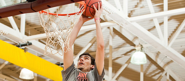 Class of 2016 standout Zac Orr of Homer, Ga., rose to the occasion at the EBATop40 Workout.  *Ty Freeman / *TyPhotoG
