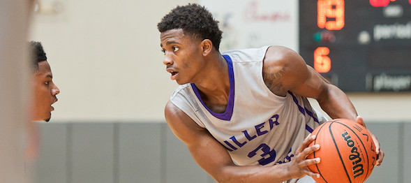 Alterique Gilbert of Lithonia, Ga., measured up the competition to a T all year long. Ty Freeman / @TyPhotoG