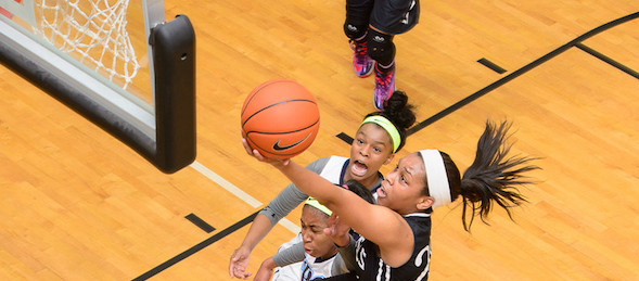 Asia Durr of Douglasville, Ga., has attacked the competition right to the No. 1 spot in the class of 2015.  *Ty Freeman / @TyPhotoG
