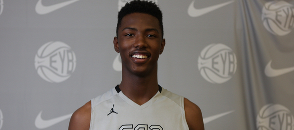 Harry Giles III of Winston Salem, N.C., has made his presence felt as one of the nation's premier class of 2016 prospects. Jon Lopez / Nike