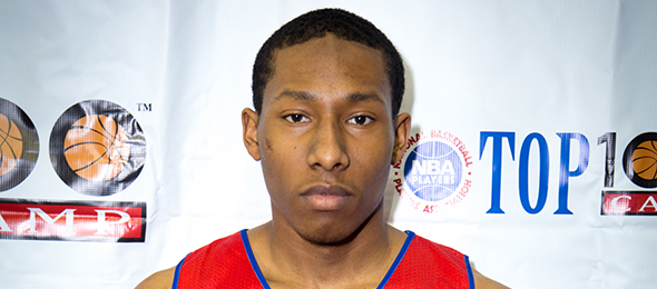 Class of 2015 guard KeVaughn Allen of North Little Rock, Ark., signed with coach Billy Donovan and Florida this year. Read about his game here. Photo cred - Davide de Pas