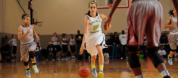 Class of 2015 guard Maci Morris of Pineville, Ky., is a proven winner at the position. Read about the University of Kentucky commit and her Kentucky Premier teammates here. Photo cred - Ty Freeman