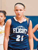 Class of 2017 wing Sydney Newsome of Talbott, Tenn. Photo cred - Ty Freeman