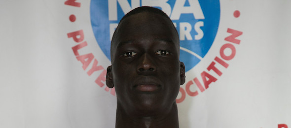 Thon Maker is one of North America's elite prep basketball prospects regardless of class. *David DePas / NBPA