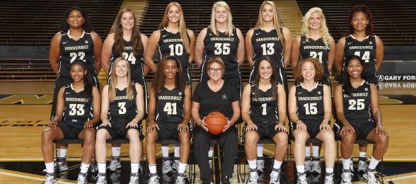 Vanderbilt coach Melanie Balcomb has a talent-laden 2014-15 roster.  John Russell / Vanderbilt