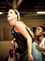 Class of 2014 forward Brooke Copeland was a standout at EBA Super 64 Camp. Photo Cred - Ty Freeman